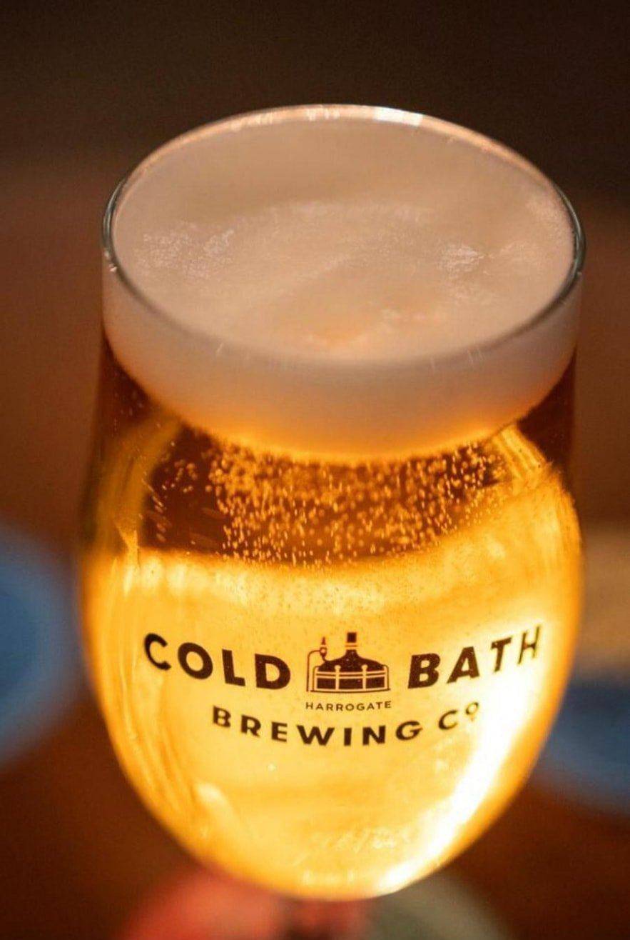Cold Bath Brewing Co Premium Glassware