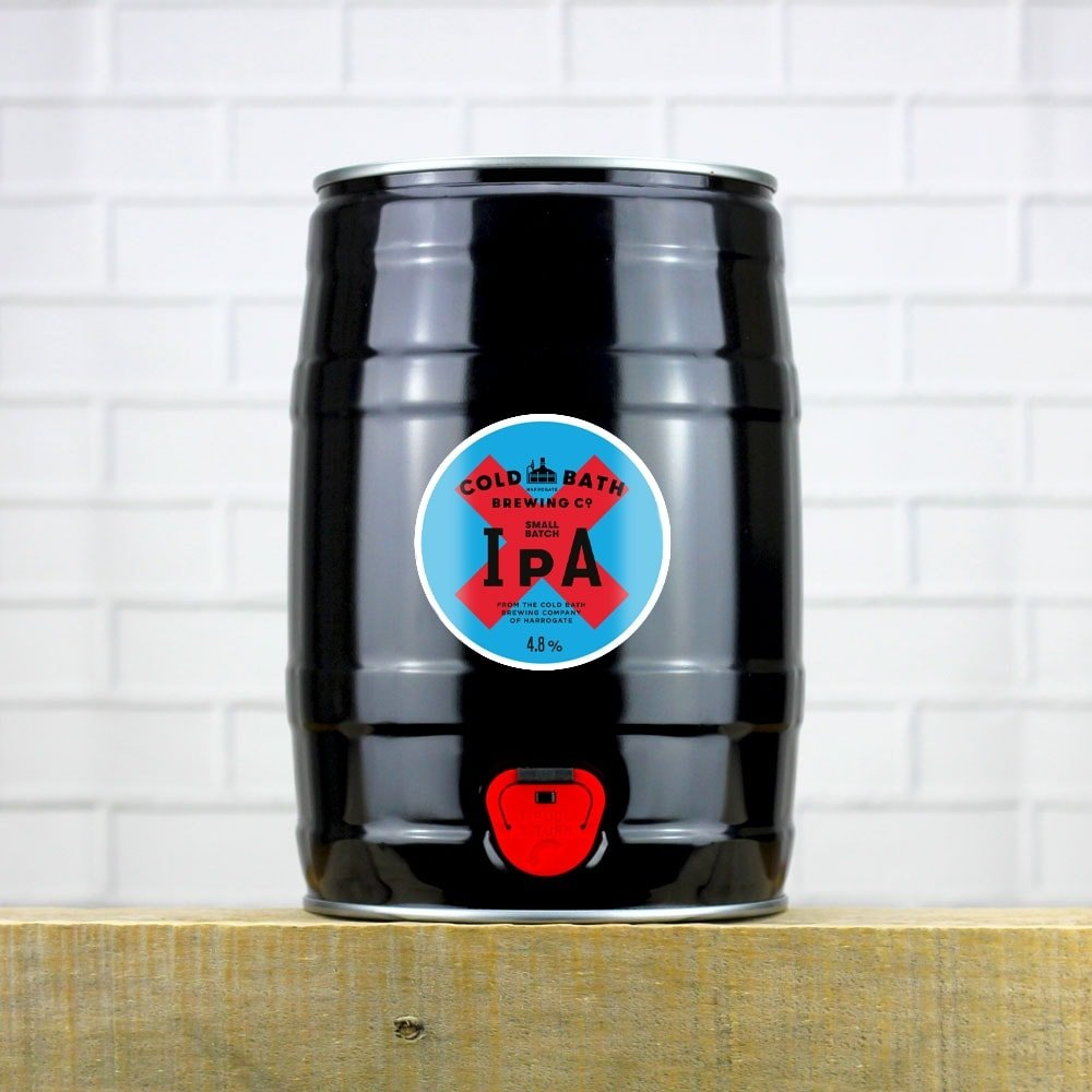 Cold Bath Brewing Co Small Batch IPA Mini-Keg