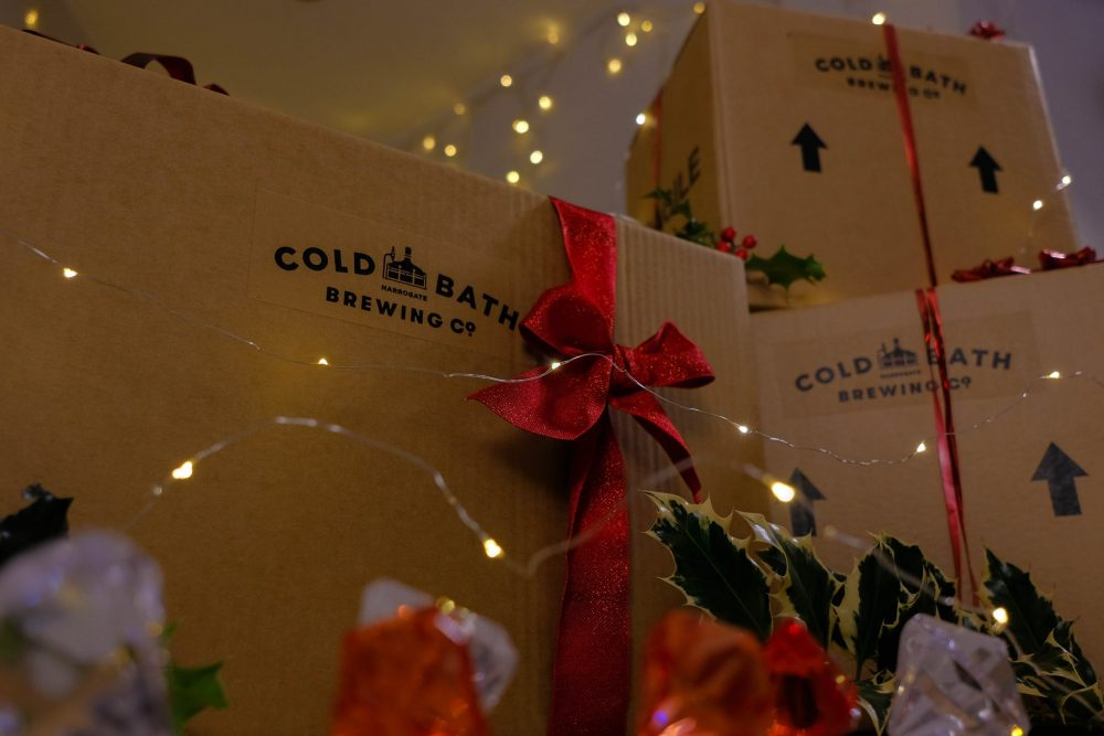 Cold Bath Brewing Co Christmas Gift Box Detail