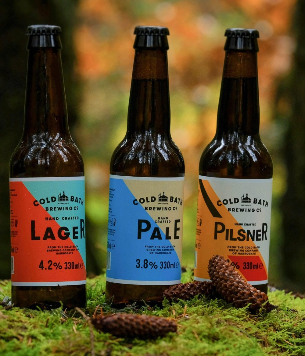 Cold Bath Brewing Co Lager, Pale And Pilsner Christmas Gift Box