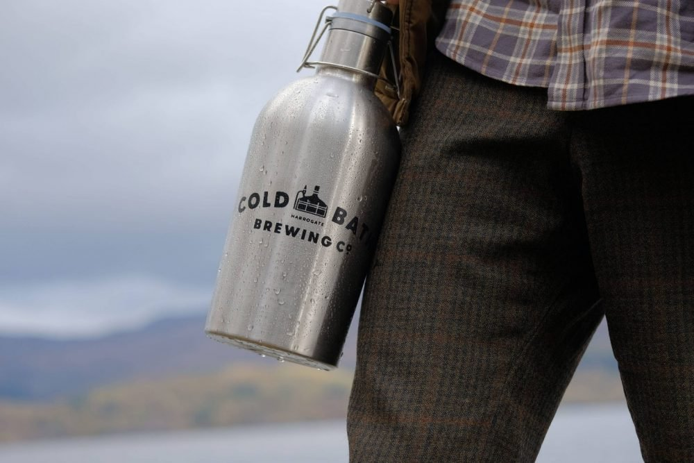 Cold Bath Brewing Co Growler
