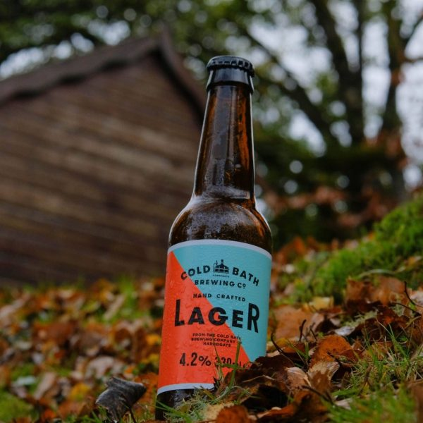 Cold Bath Brewing Co Hand Crafted Classic Lager Bottle