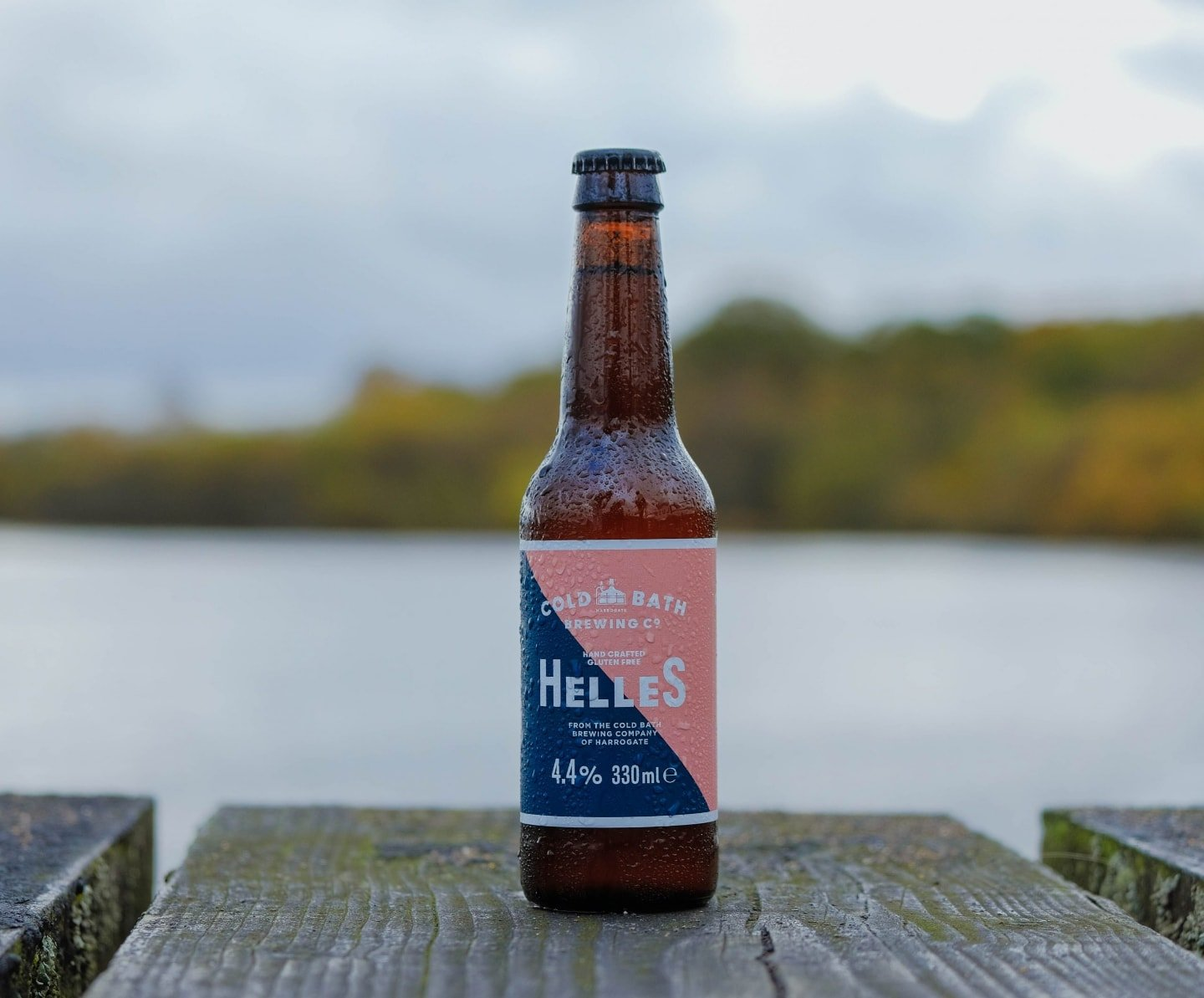Cold Bath Brewing Co Hand Crafted Helles Bottles