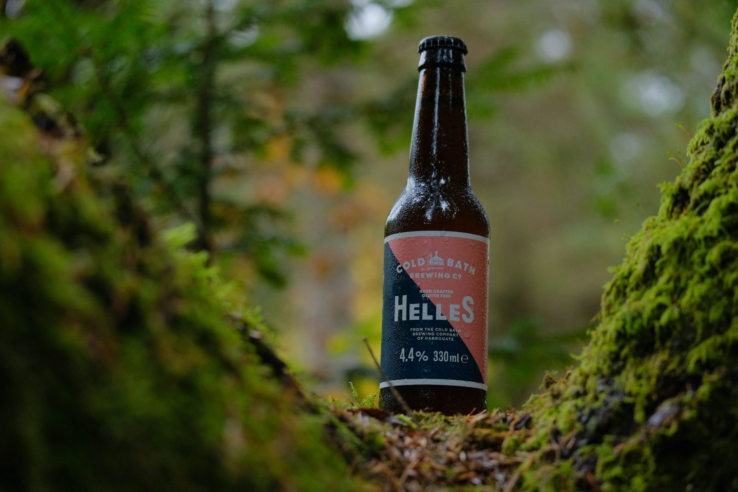 Cold Bath Brewing Co Hand Crafted Helles Bottle