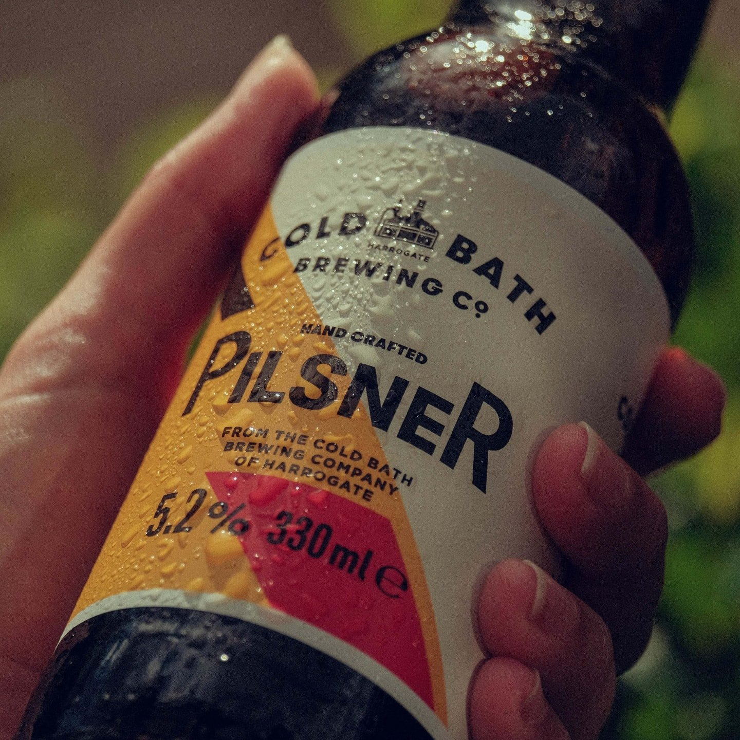Cold Bath Brewing Co Hand Crafted Pilsner