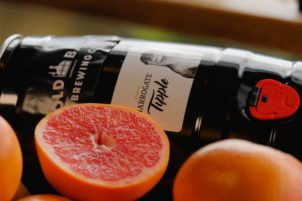 Cold Bath Brewing Premium Harrogate Tipple IPA Mini-Keg